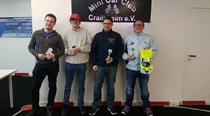 Tamiya EuroCup beim Mini Car Club Crailsheim e.V.