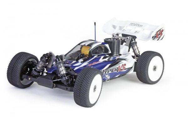 Hobao Hyper VS Nitro Buggy RTR blau inkl. 2,4GHz Fernsteuerung & Mach 21 Motor