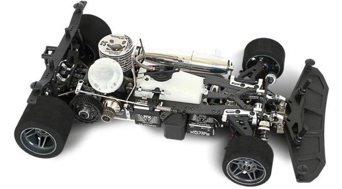 ARC R8.1 Nitro 1/8 Onroad Fahrzeug