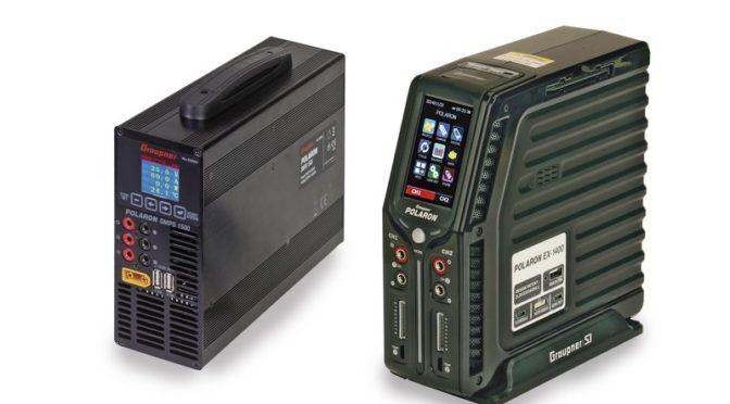 Ladegerät POLARON EX1400 schwarz & Schaltnetzteil SMPS 1500