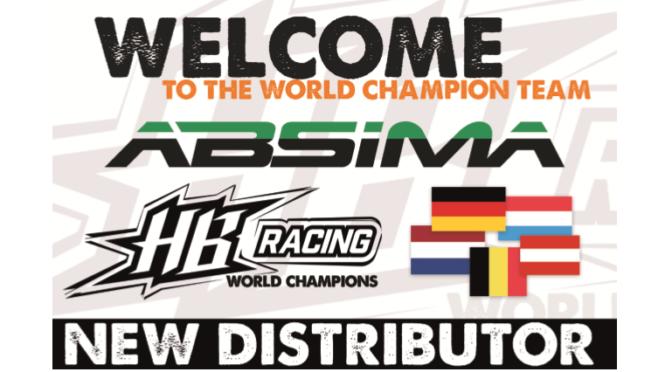 Absima ist neuster Vertriebspartner von HB Racing