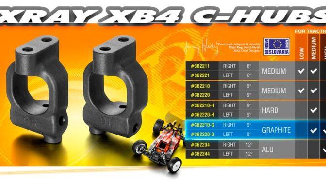 Xray XB4 – C-Hubs