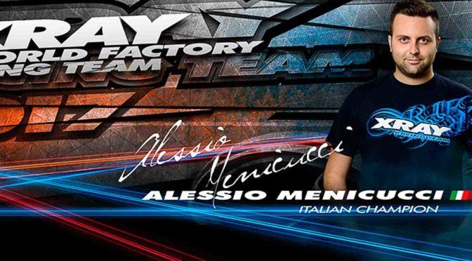 Alessio Menicucci weiter bei XRAY