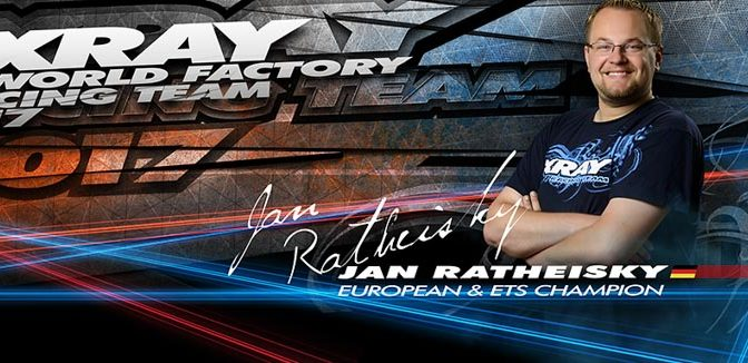 Jan Ratheisky verlängert bei XRAY