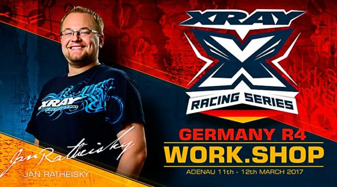 XRAY Workshop beim XRS Germany R4