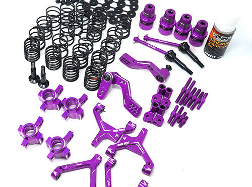 RWD Drift Conversion Kit für den HPI Sprint 2 Purple