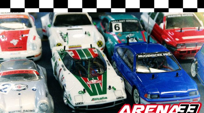 Youngtimer Trophy + Fronti Challenge in der Arena33