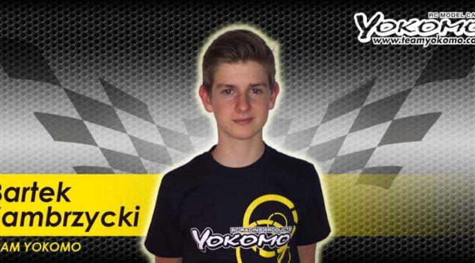 Bartek Zambrzycki im YOKOMO Factory Team