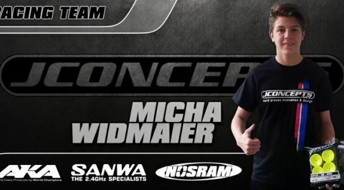 Micha Widmaier neu im JConcepts Racing Team!