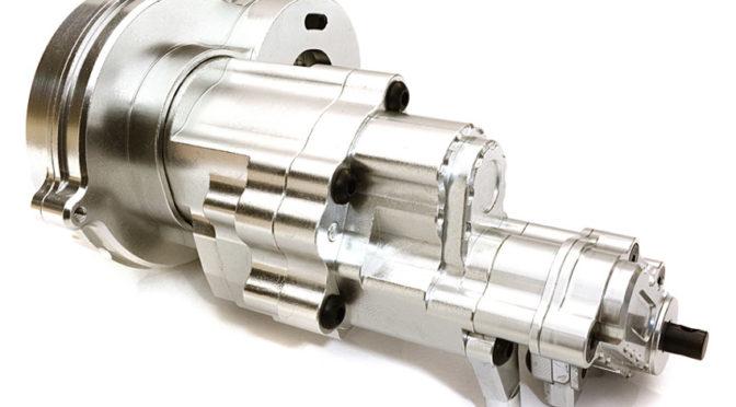 Aluminium-Getriebegehäuse mit LCG für Axial 1/10 SCX10 II