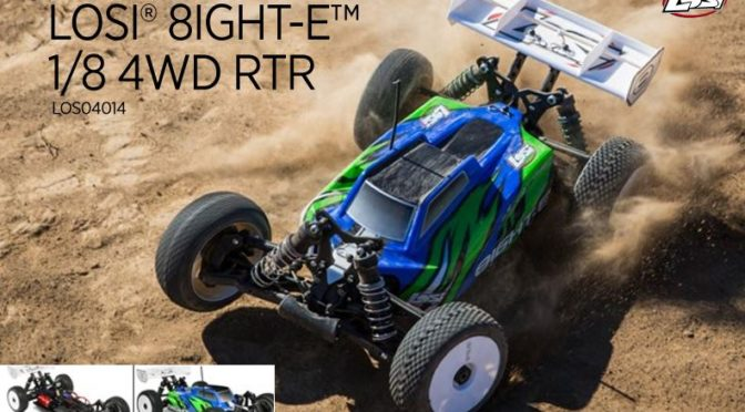 LOSI® 8IGHT-E™ 1/8 4WD BUGGY RTR