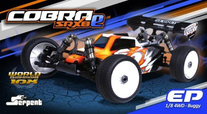 Serpent SRX8e 1/8 Offroad Buggy – Im Detail