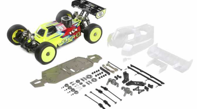 TLR 8IGHT 4.0 Tuning Kit