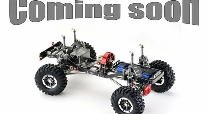 Crawler CR01 1/10 EP Rolling Chassis von Absima