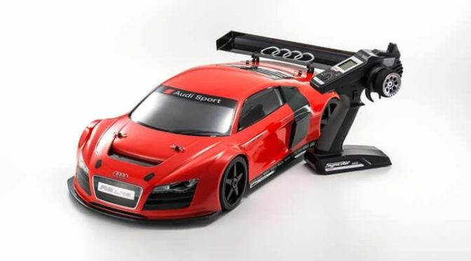 Audi R8 LMS Red – KYOSHO INFERNO GT2 RACE SPEC