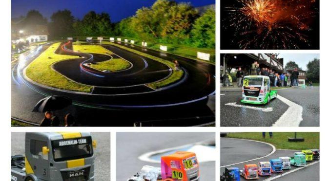 Truck-Race auf dem Tamiya Raceway für Conrad Electronic-Kunden