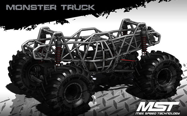 MST MONSTER TRUCK MTX-1