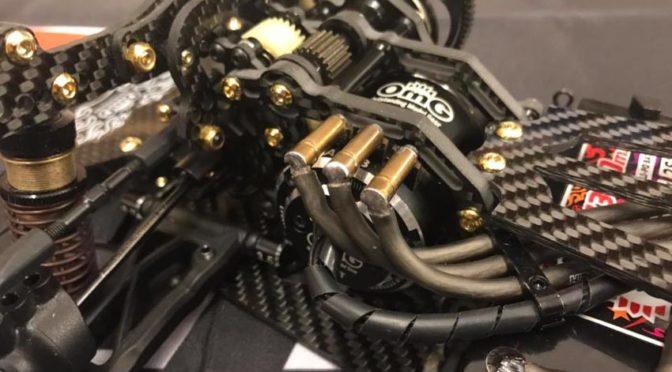 T.GAMES Yokomo YD2 Gearbox / Motorhalter für unterschiedliche Motorpositionen