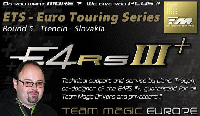 Support und Service beim ETS round 5 @ Trencin in Slovakia