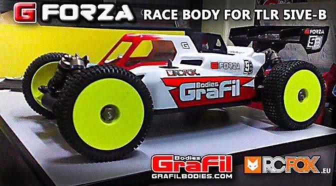 Grafil LOSI 5ive-B (5B) G-Forza Karosserie
