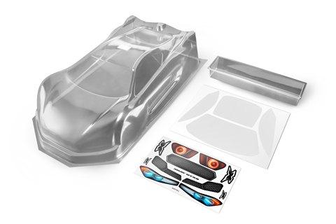 GT Karosserie  mit Spoiler für 1/8 GT