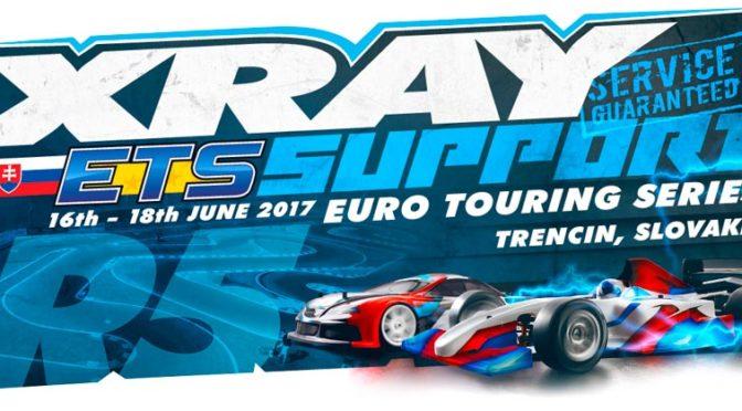 Xray Support beim ETS Round 5