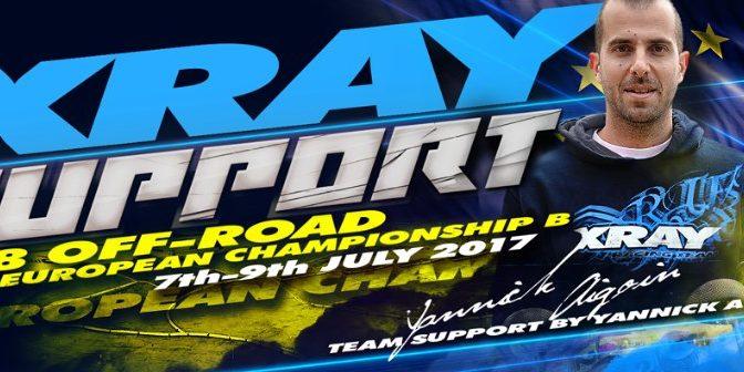 Team Support auf der 1/8 Euro B Championship