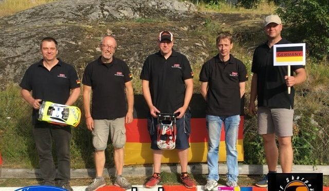 EFRA European Champion +40 1/8th und 1/10th entschieden