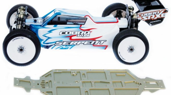 Cobra SRX8-E buggy – Neues 4 mm Chassis