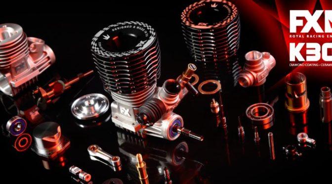 FX 3.5cc Engine .21 – K301