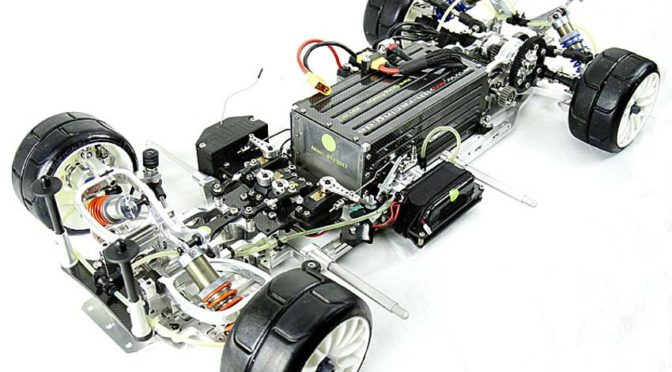 H.A.R.M. E-Drive Chassis, Radstand 535mm