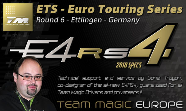 Team Magic mit einer Neuheit beim ETS R6 in Ettlingen