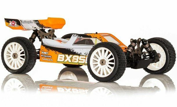 BX8SL – E-Buggy Brushless 4WD RTR Buggy 1/8