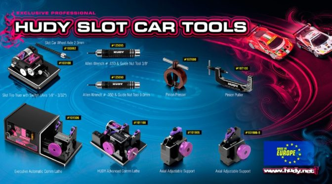 Hudy – Slot Car Tools