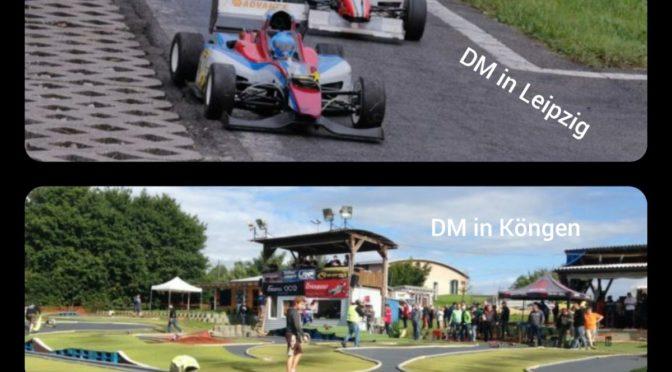 DM-Entscheidungen in Leipzig und Köngen