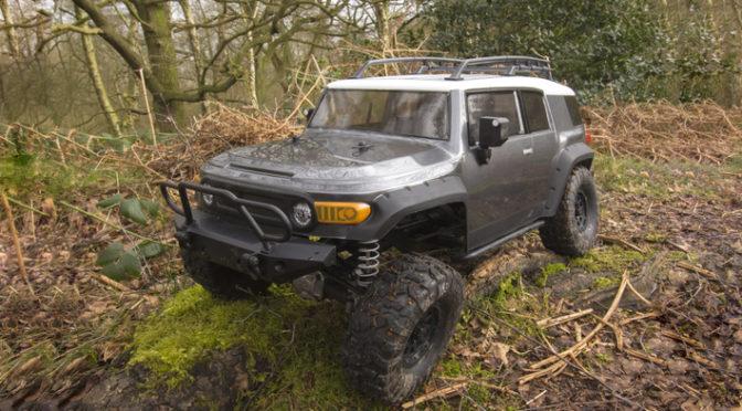Venture 1/10 Crawler RTR Toyota FJ Cruiser (gunmetal)