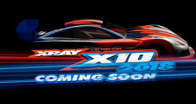 XRAY X10'18 angekündigt
