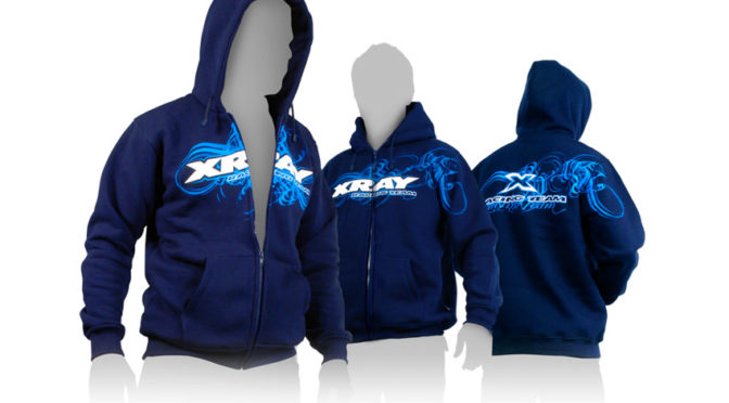 XRAY Sweater Hooded mit Zipper