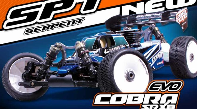 Serpent Cobra SRX8-EVO 1/8 Buggy