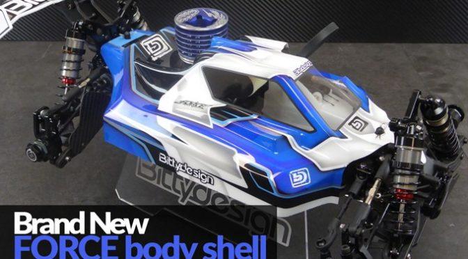 Bittydesign – FORCE Karosserie für die Agama A215 / A215SV 1/8 Buggys