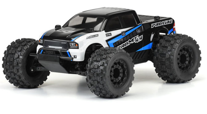 PRO-MT 4×4 1:10 4WD Monster Truck Pre-Built Roller