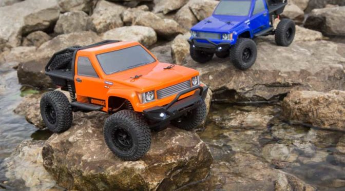 Größe ist nicht alles – ECX 1:24 4WD Barrage Scaler RTR