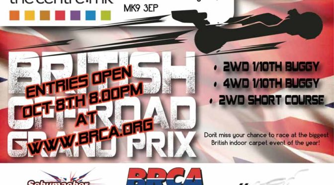 "Der ""British Off Road GP"" startet im Januar 2018"