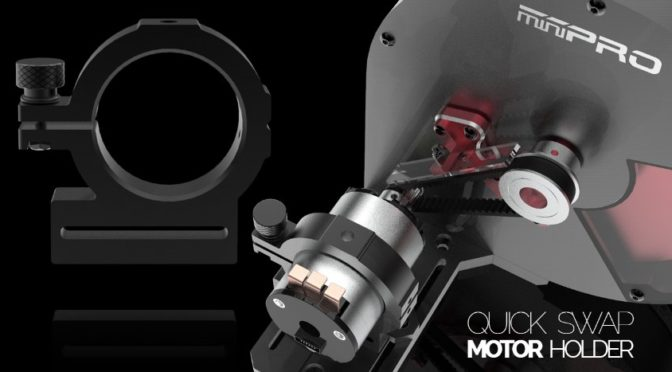 Minipro – Motorhalter für Meßstation – 540er Motoren