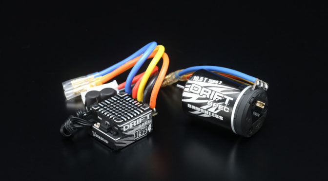 Yokomo Drift Spec – Fahrregler und Motor