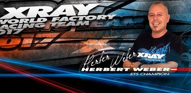 Herbert Weber wechselt zu XRAY
