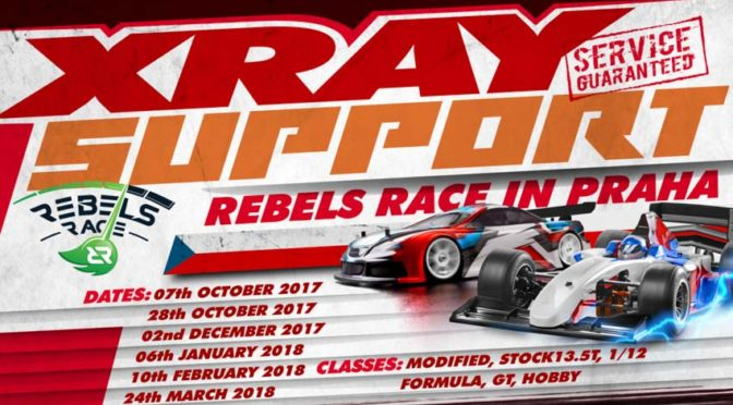 XRAY Support beim Rebels Race