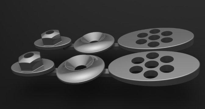 3DRC Wing Button Set TC