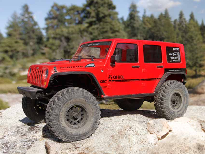 Axial SCX10™ II 2017 Jeep® Wrangler Unlimited CRC Edition | mikanews.de
