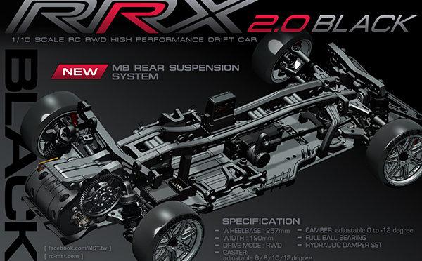 RRX2.0 Black von MST